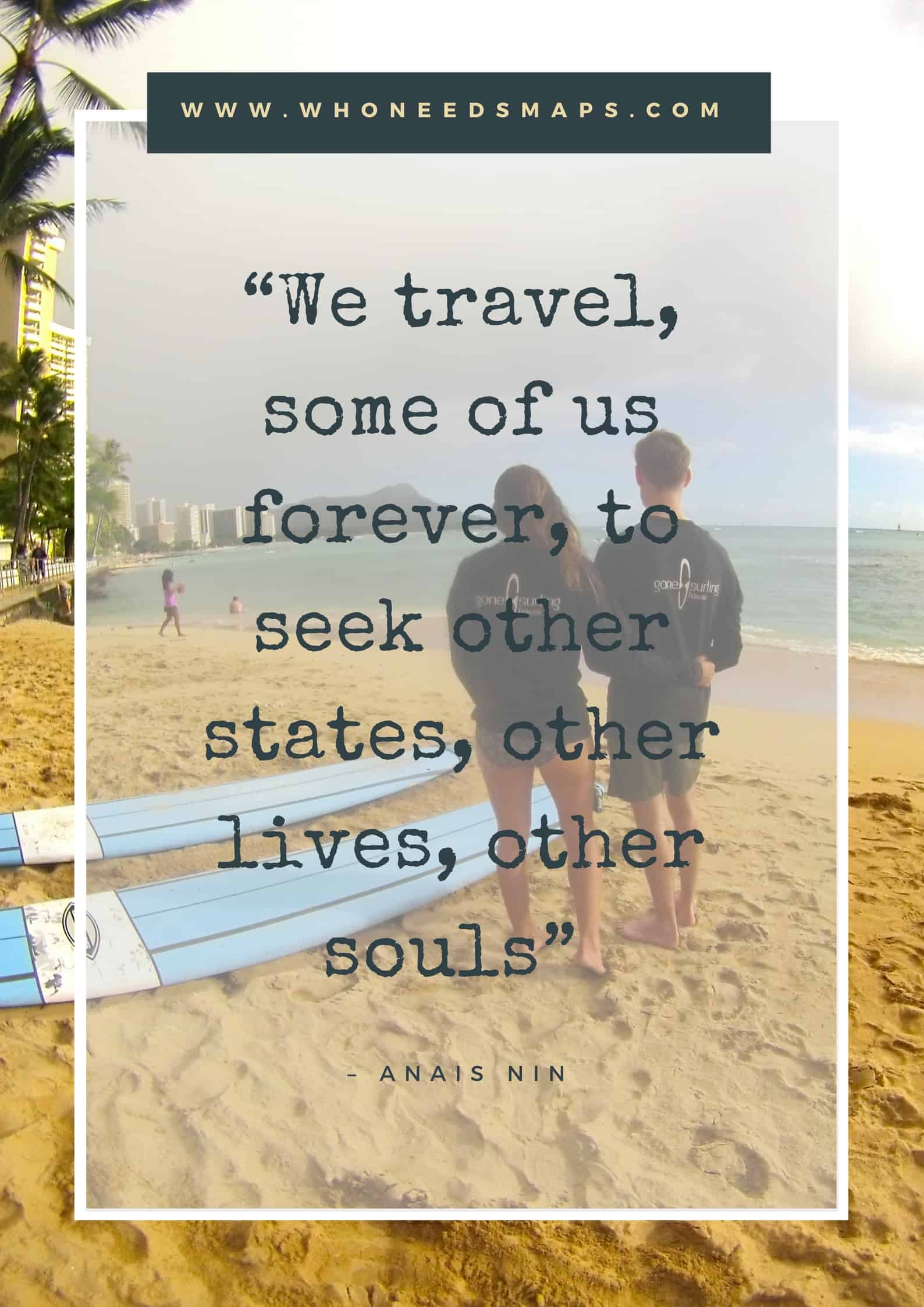 quotes for the traveling couple anais
