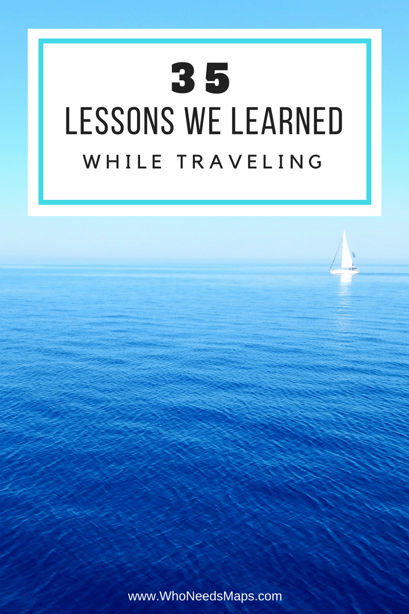 lessons while traveling banner