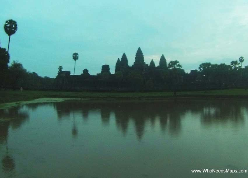 Angkor Wat pictures - Sunrise