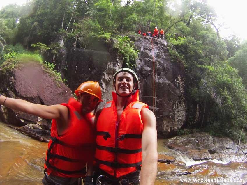 Best hikes in Asia-canyoning Jack & Jenn