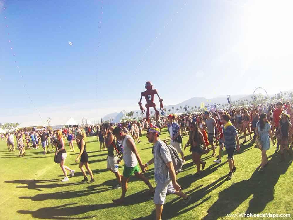 Coachella-robot