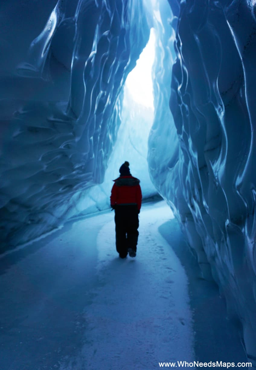 ice cave pictures in alaska
