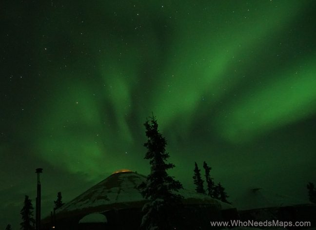 northern lights chena things to do in alaska