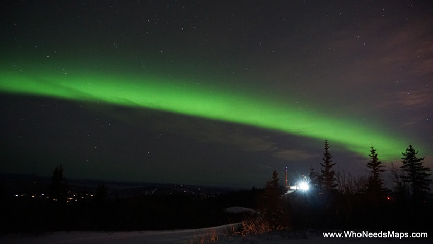 northern lights pictures in alaska