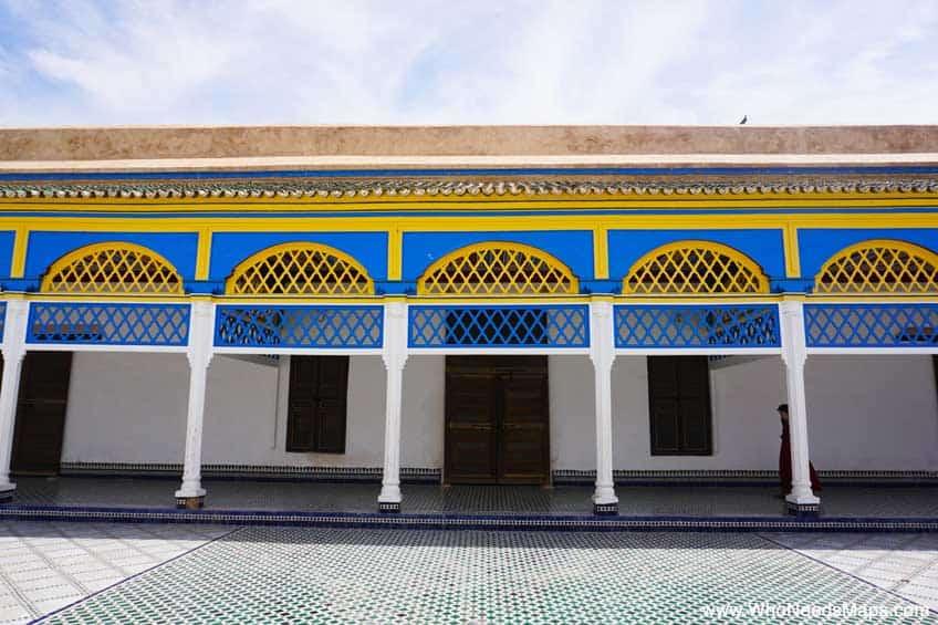 explore marrakech palais