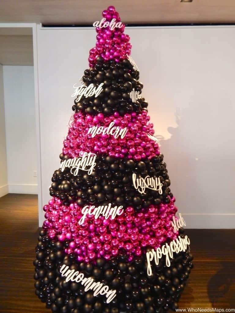 the modern honolulu hotel christmas tree