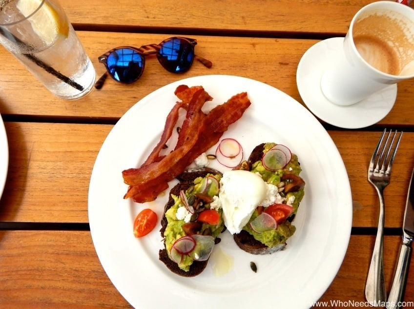 the modern honolulu avocado toast