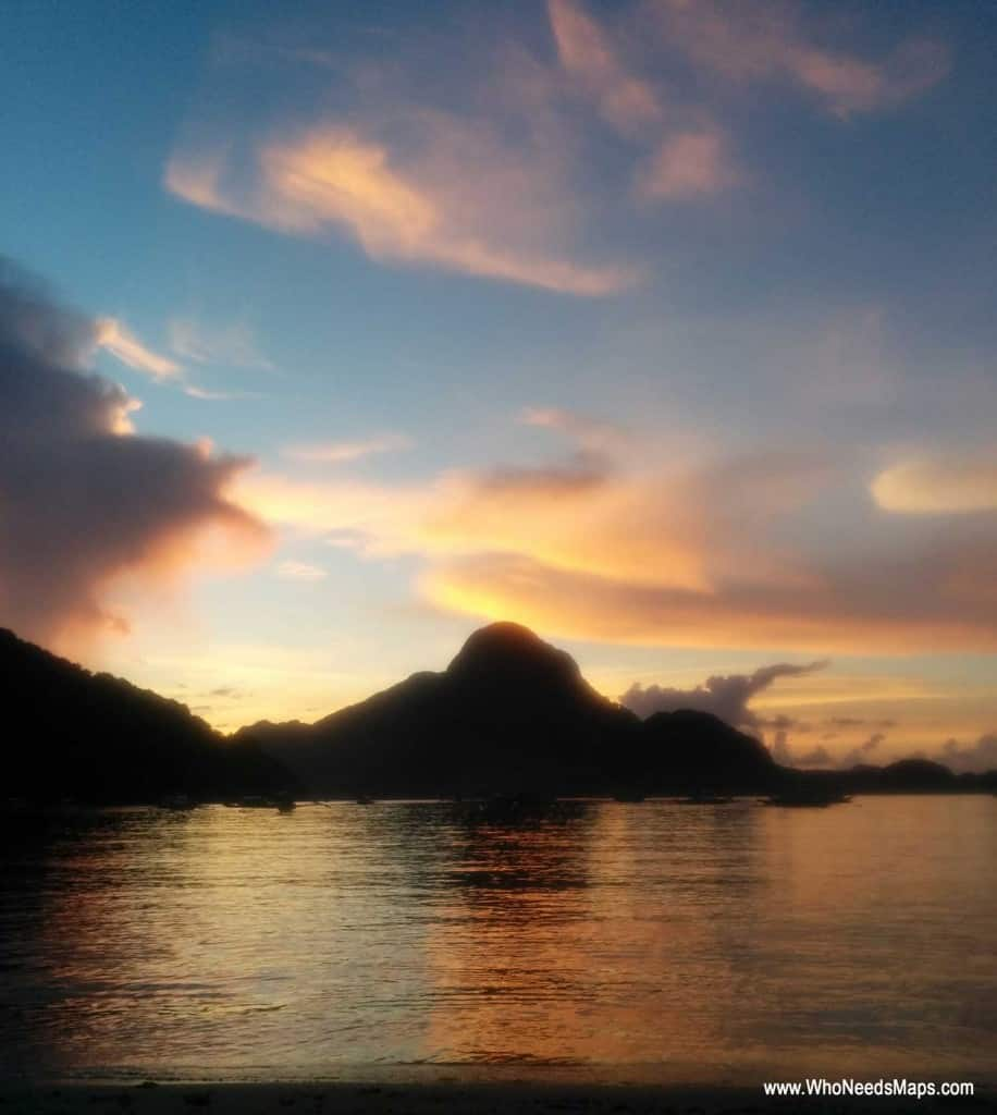 Sunset_El Nido_Palawan_Philippines_Who Needs Maps