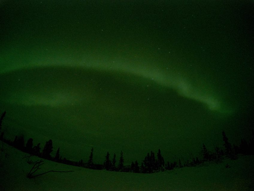 northern lights photography gopro capture