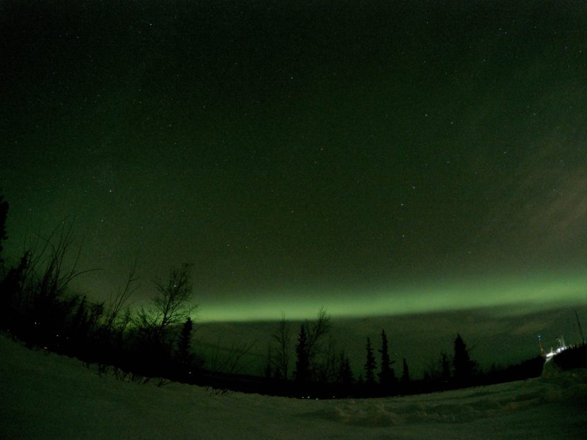 northern lights photography gopro fairbanks