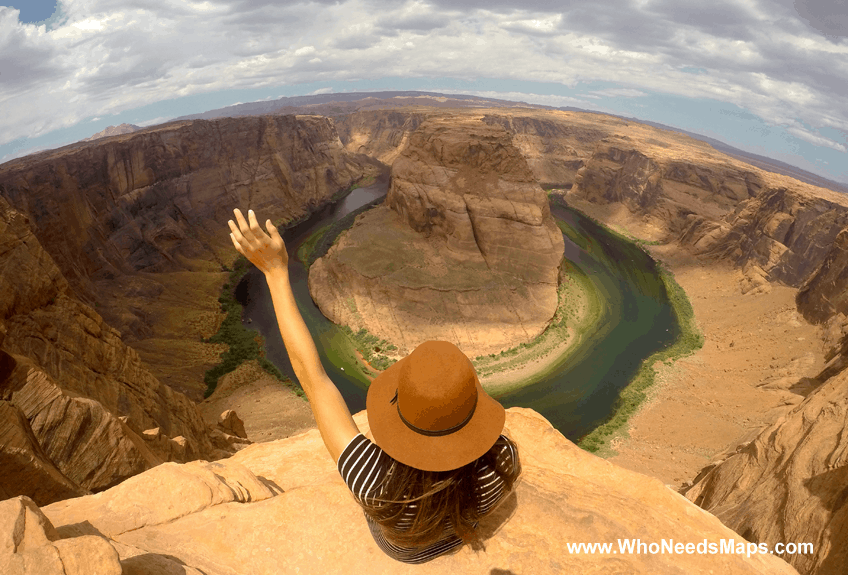 jenn horseshoe bend grand canyon adventures