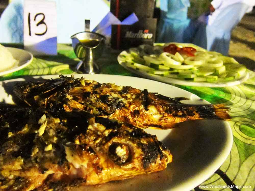 Grilled Fish-Panglau-Bohol,-Philippines