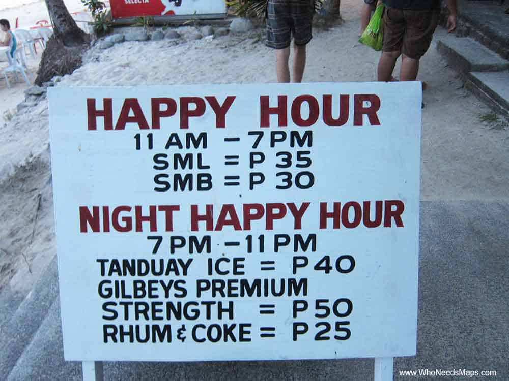 Happy-Hour-Sign-Panglau-Bohol-Philippines