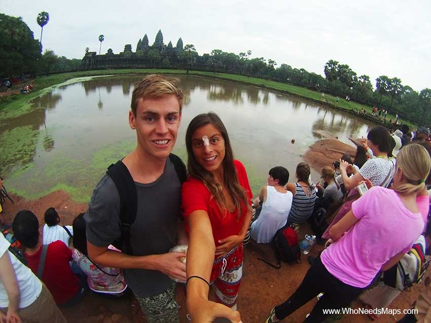 Jack and Jenn - Angkor Wat