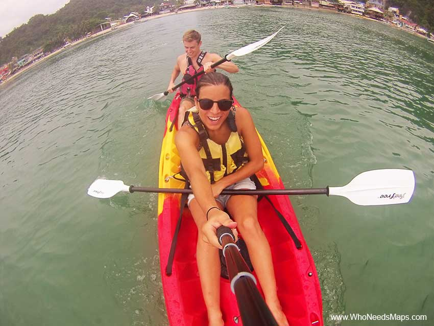 Kayaking_El Nido_Philippines_Fitness While Traveling