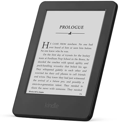 Kindle - gift ideas for travelers
