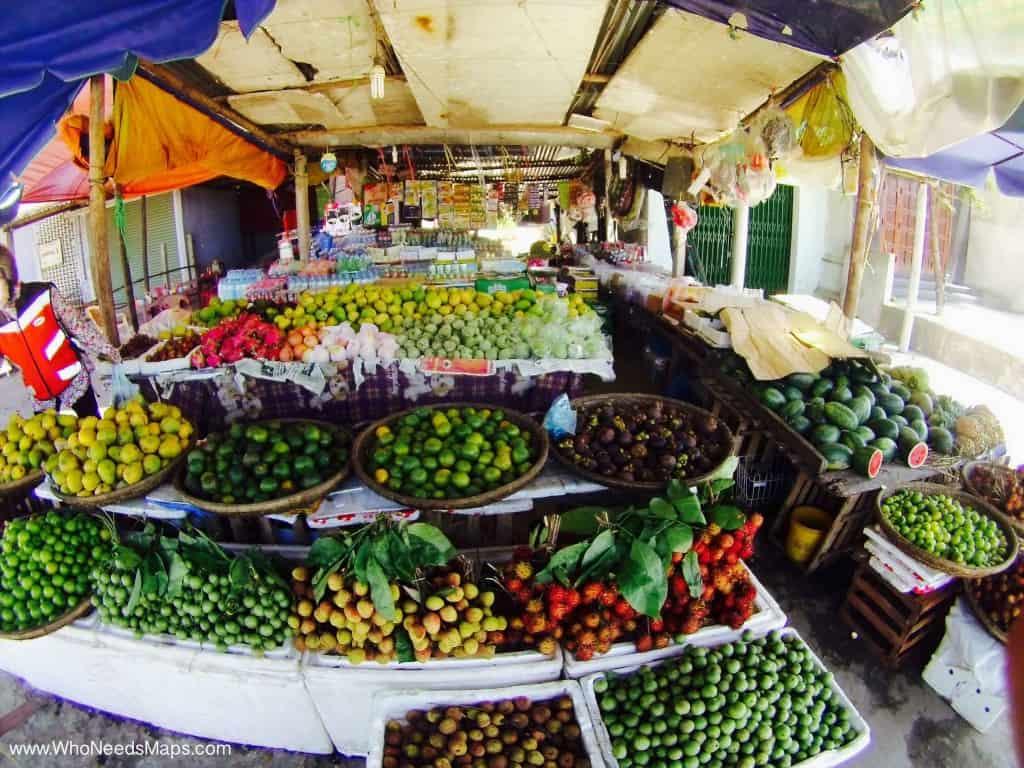Motobike Tour Vietnam_Fruit Market