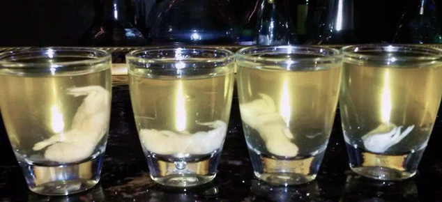 Rice Wine Mouse Shots