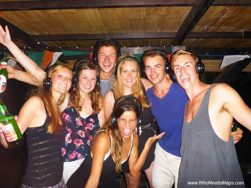 Silent Disco Party - Gili T - Top Party Destinations In Southeast Asia
