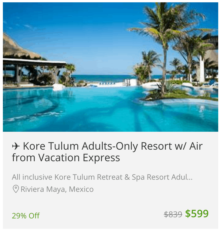groupon coupons vacations tulum