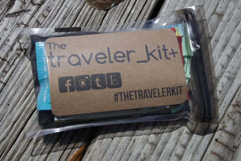 The Traveler Kit+ // Traveler Kit Adventure Travel Bag Travel Items Travel Necessities TSA Approved Carry On Bag Everyday Carry Explore