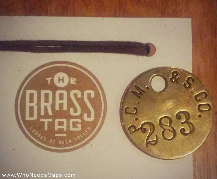 The-brass-tag-deer-valley-tag