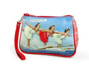 Valentines travel gift Cosmetic bag