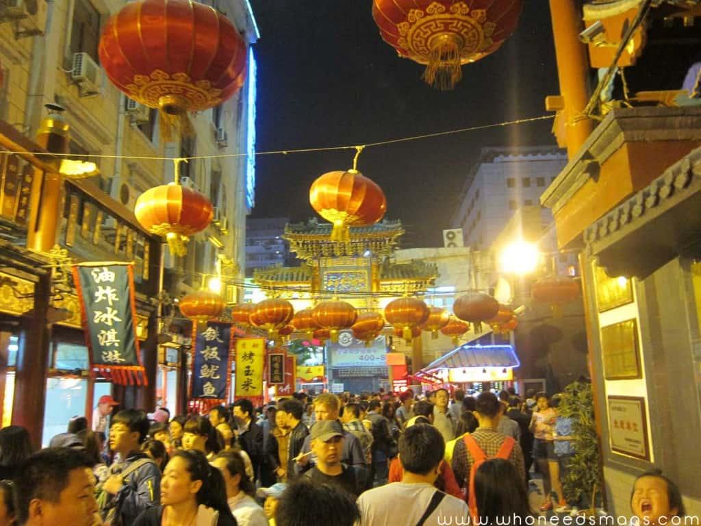 Wangfujing-Markets