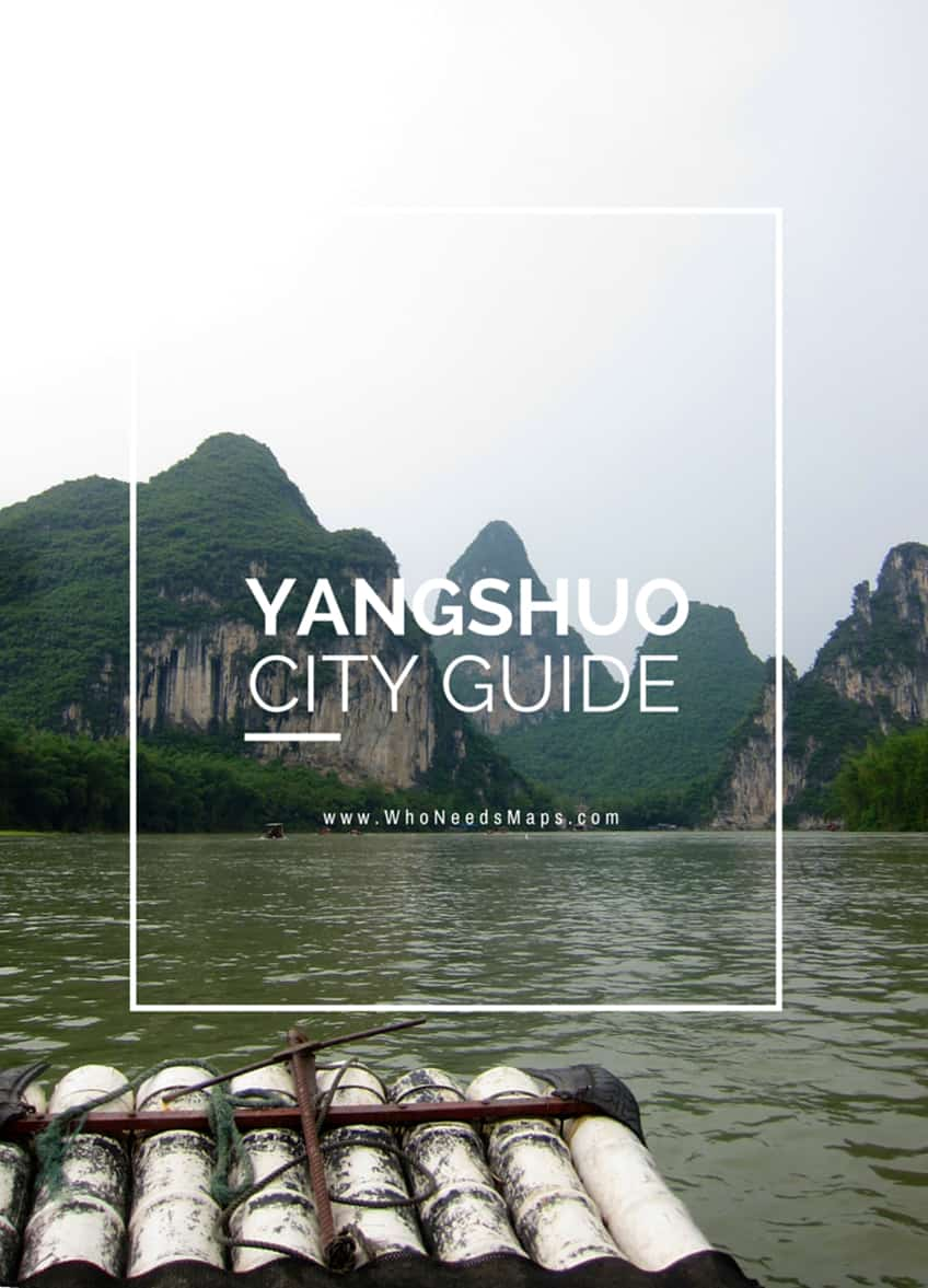 Yangshuo city guide banner