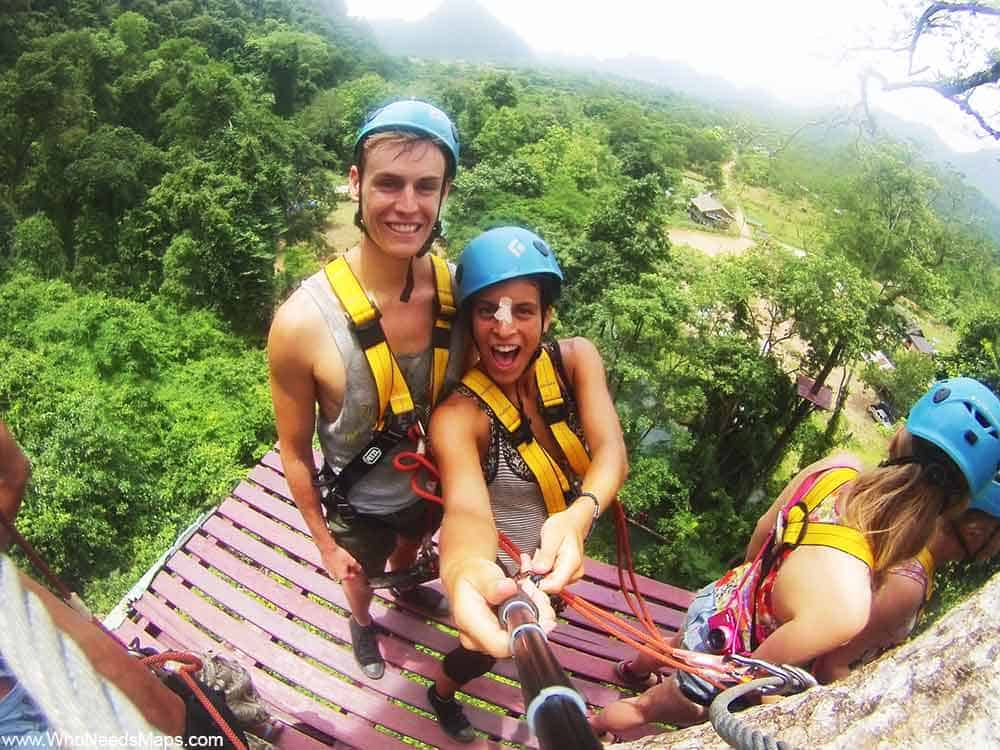 Things to do in Laos_Zip Lining