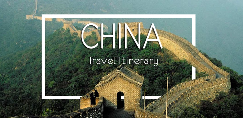 backpacking china itinerary banner