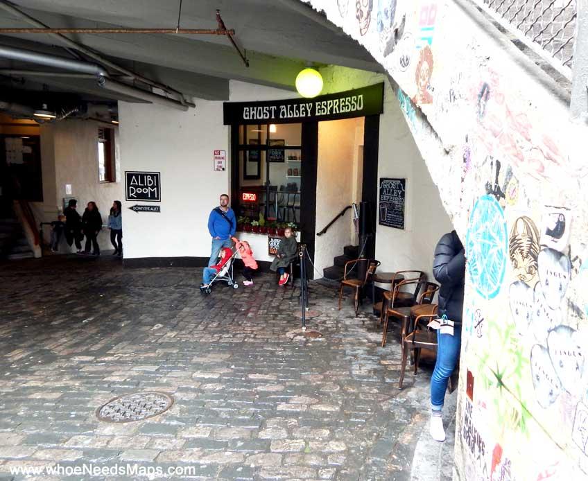 best coffee in seattle ghost alley espresso store