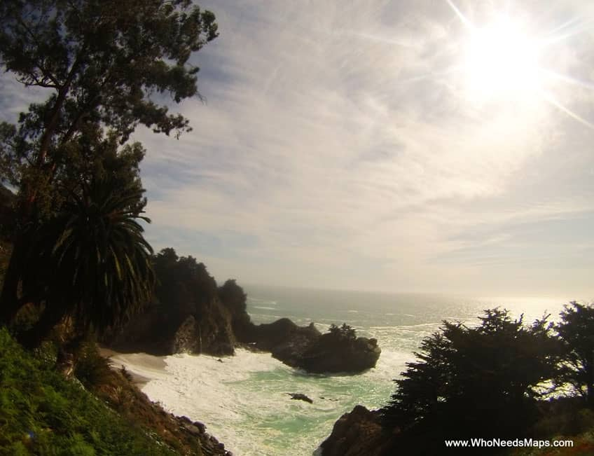 big sur city guide McWay falls