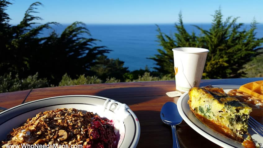 big sur city guide breakfast