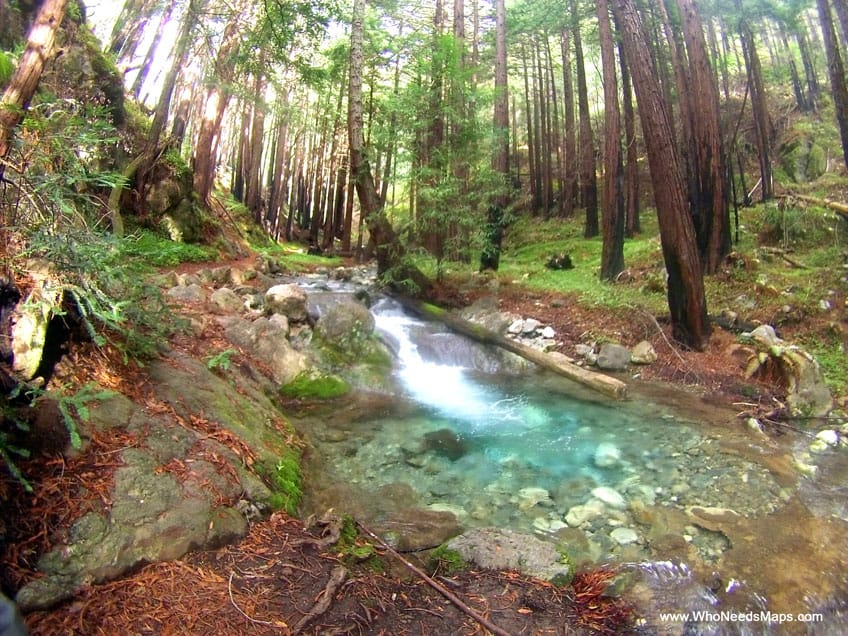 big sur city guide limekiln waterfall