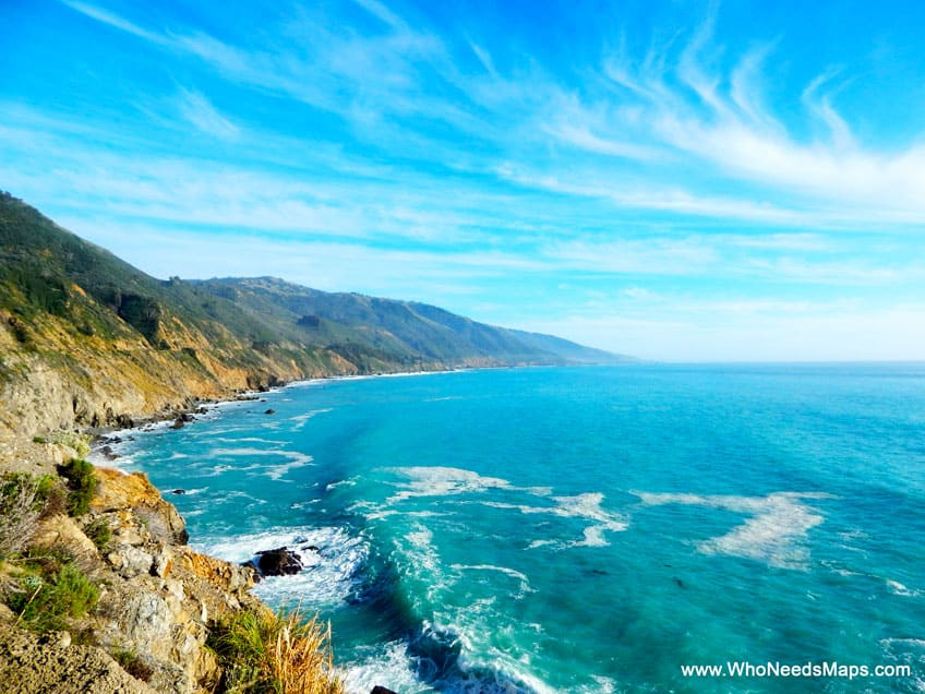 big sur city guide vista