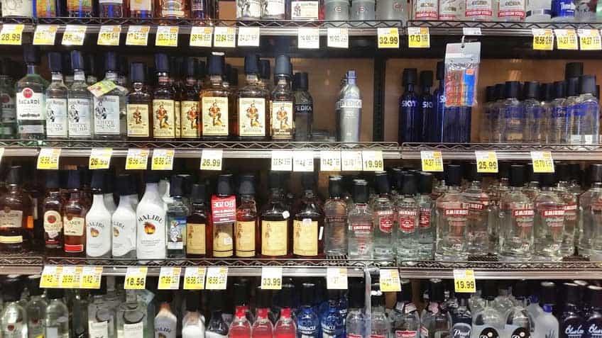 Australians in America - booze