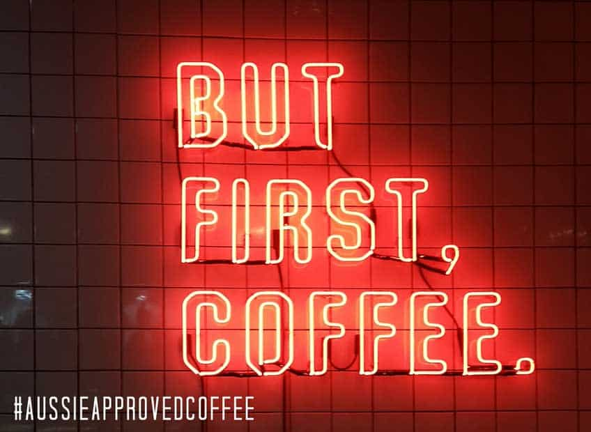 Los Angeles coffee shops banner