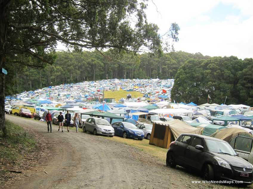 Music festival survival guide - Camping