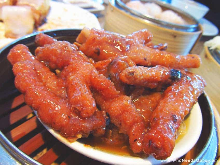 chicken feet - weird exotic foods