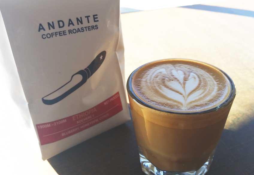 Los Angeles coffee shops andante
