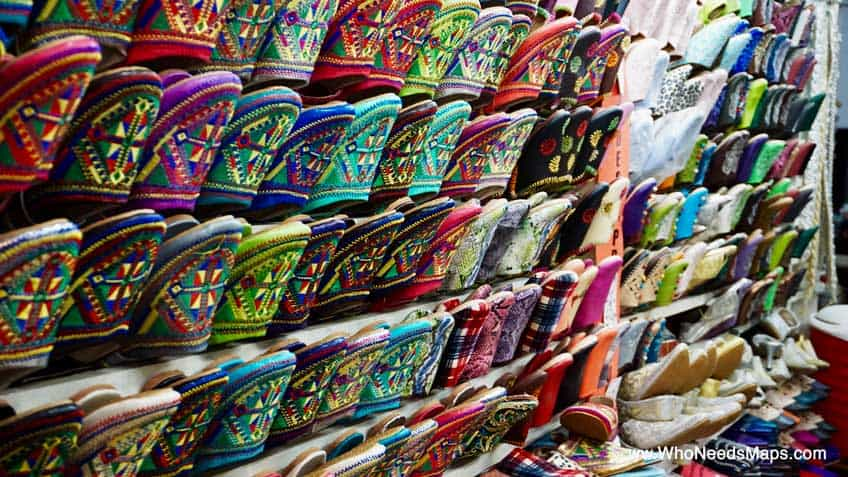 explore marrakech shoes