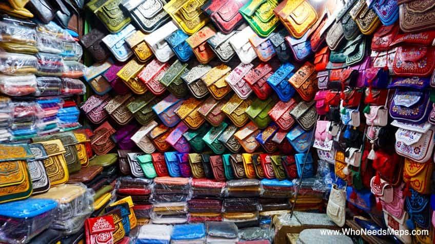 explore marrakech purse