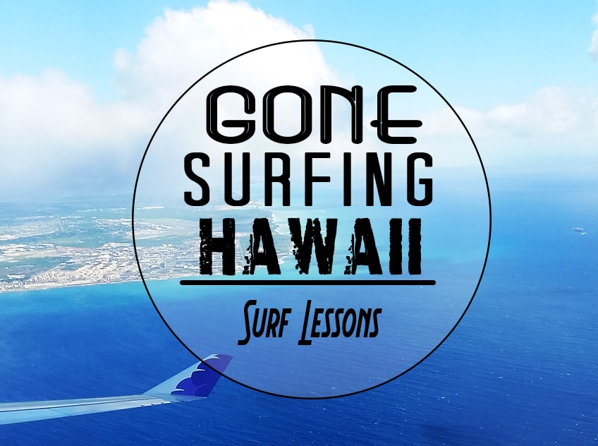 gone surfing hawaii banner