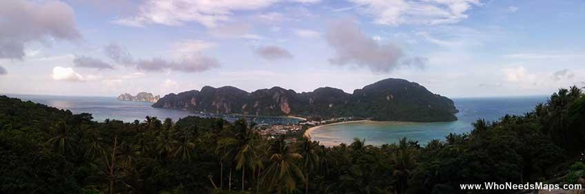 Best hikes in Asia-koh phi phi