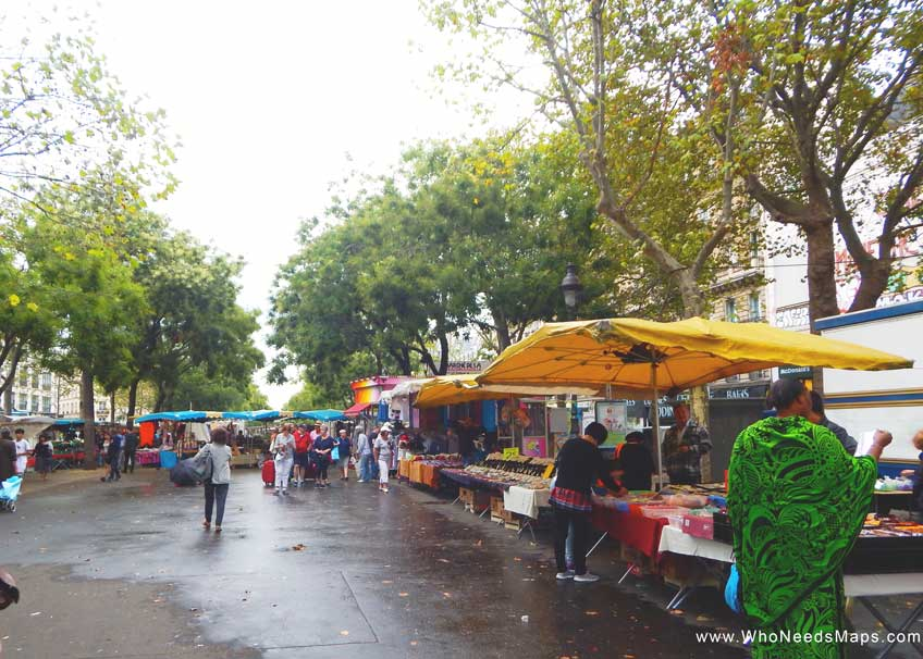 Paris Food Tour-outdoro-market