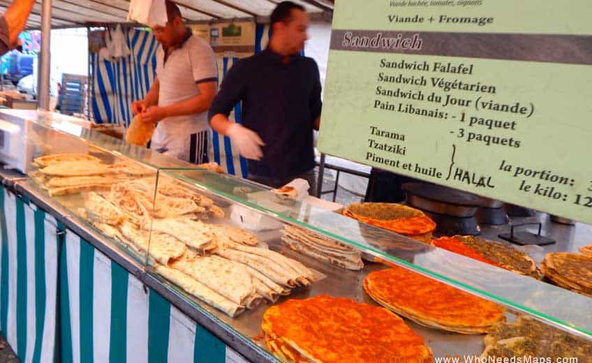 Paris Food Tour pizza-paris