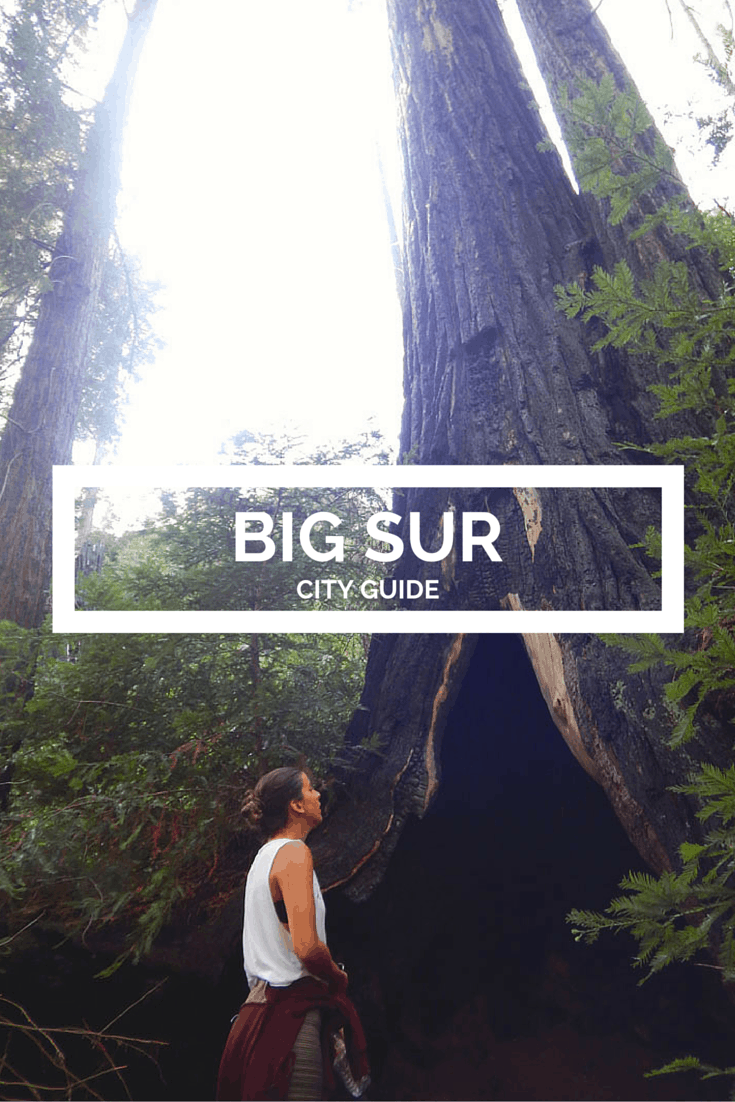 big sur city guide banner