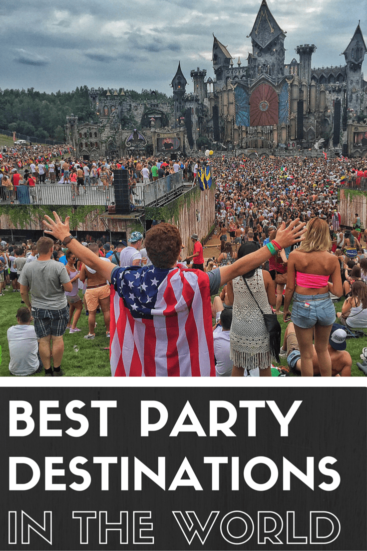 Best Party Destinations in the world