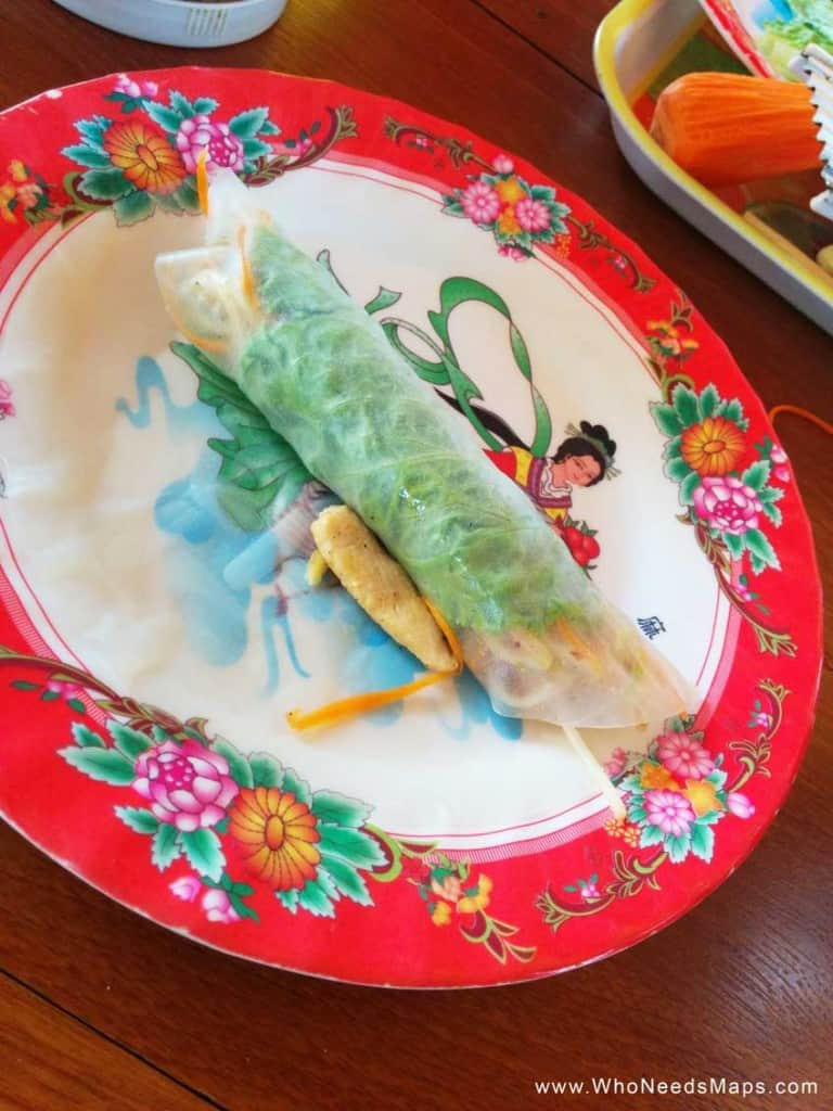 vietnamese cooking class spring roll